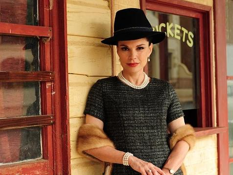Sigrid Thornton as Judy Garland in Peter Allen: Not The Boy Next Door
